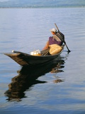 Fisherman, Inle Lake, Shan State, Myanmar (Burma), Asia Photographic Print by Sergio Pitamitz