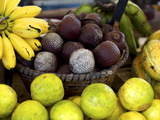 Local Fruits, Maracuja and Nuts, in the Central Market of Belem, Brazil, South America Photographic Print by Olivier Goujon