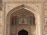 Ganesh Bol Gate, Amber Fort Palace, Jaipur, Rajasthan, India, Asia Photographic Print by Wendy Connett