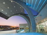 Stylish Modern Architecture of Terminal 3 Opened in 2010, Dubai International Airport Photographic Print by Gavin Hellier