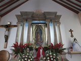 Guadalupe Chapel, Church of Ojeda, a Major Pilgrimage Site, Taxco, Guerrero State, Mexico Photographic Print by Wendy Connett