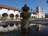 Santa Barbara Mission, Santa Barbara, California, USA Photographic Print by Michael DeFreitas
