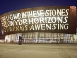 Wales Millennium Centre, Cardiff Bay, Cardiff, Wales, United Kingdom, Europe Photographic Print by Christian Kober