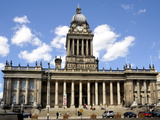 The City Hall, Victoria Square, the Headrow, Leeds, West Yorkshire, England, Uk Photographic Print by Peter Richardson