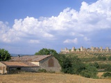 Monteriggioni, Siena Province, Tuscany, Italy, Europe Photographic Print by Sergio Pitamitz