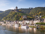 Reichsburg Castel, Cochem, Moselle River, Rhineland-Palatinate, Germany, Europe Photographic Print by Gavin Hellier