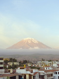 El Misti Volcano, 5822M, Above City, Arequipa, Peru, South America Photographic Print by Christian Kober