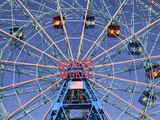 Wonder Wheel, Coney Island, Brooklyn, New York City, United States of America, North America Photographic Print by Wendy Connett