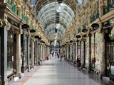 Interior of Cross Arcade, Leeds, West Yorkshire, England, Uk Photographic Print by Peter Richardson