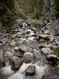 Fish Creek Falls and Cascades, Routt National Forest, Colorado, USA Photographic Print by James Hager