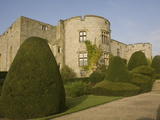 Chirk Castle, With Topiary, Wrexham, on the Border Between England and Wales, Wales, Uk Photographic Print by Rolf Richardson