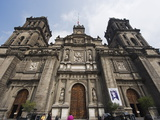 Cathedral Metropolitana, District Federal, Mexico City, Mexico, North America Photographic Print by Christian Kober