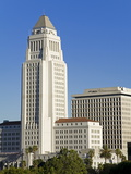 Los Angeles City Hall, California,United States of America, North America Photographic Print by Richard Cummins