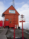 Argentina Research Station, Paradise Bay, Antarctic Peninsula, Antarctica, Polar Regions Photographic Print