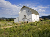 Barn at the Swaner Nature Preserve, Park City, Utah, United States of America, North America Photographic Print by Richard Cummins