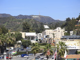Oscars Billboard, Hollywood Sign, Hollywood, Los Angeles, California Photographic Print by Wendy Connett