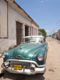 Old 1950S Car, Remedios, Cuba, West Indies, Central America Photographic Print by Michael DeFreitas