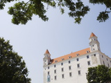 Newly Renovated Castle, Bratislava, Slovakia, Europe Photographic Print by Jean Brooks