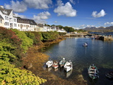 Roundstone, Connemara, County Galway, Connacht, Republic of Ireland, Europe Photographic Print by David Wogan