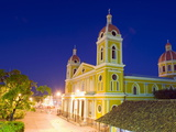 Granada Cathedral, Founded in 1583, Rebuilt in 1915, Granada, Nicaragua, Central America Photographic Print