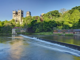 Durham Cathedral, and the River Wear, Durham, County Durham, England, Uk Photographie par Guy Edwardes