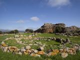 Nuraghe Arrubiu, Sardinia, Italy, Europe Fotografisk tryk af Oliviero Olivieri