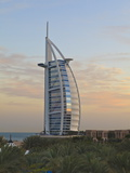 Burj Al Arab Hotel, Jumeirah Beach, Dubai, United Arab Emirates, Middle East Photographic Print
