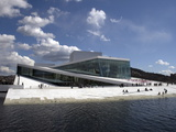 Opera House, Oslo, Norway, Scandinavia, Europe Photographic Print
