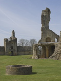 Ruins of the 12th Century Sherborne Old Castle, Royalist Stronghold During the English Civil War Photographic Print by James Emmerson