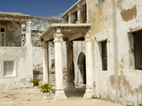 Inside San Sebastian Fort Dating From 1558, Mozambique Island, Mozambique, Africa Fotografisk tryk