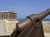 Lighthouse and Artillery, Medina Sidonia (Old Town) District, Melilla, Spain, Spanish North Africa Photographic Print by Richard Cummins