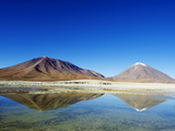 Volcano Licancabur 5916M, Eduardo Avaroa Andean National Reserve, Bolivia, South America Photographic Print by Christian Kober