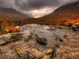 Glencoe, Highlands, Scotland, Uk Photographie par David Wogan