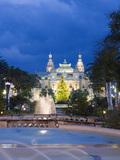 Monte Carlo Casino, Monte Carlo, Principality of Monaco, Cote D'Azur, Europe Photographic Print by Christian Kober