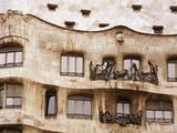 Richard Cummins - Casa Mila (La Pedrera) By Gaudi, UNESCO World Heritage Site, Barcelona, Catalonia, Spain, Europe - Fotografik Baskı