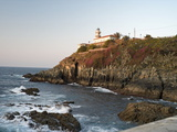 Lighthouse at Cudillero, Asturias, Spain, Europe Photographic Print