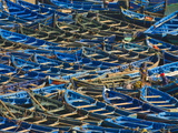 Fishing Boats in the Coastal City of Essaouira, Morocco, North Africa, Africa Photographic Print