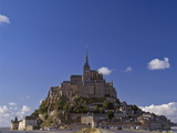 Le Mont St. Michel, 10th Century Benedictine Abbey, UNESCO World Heritage Site, Normandy, France Photographic Print