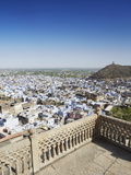 View of Bundi From Bundi Palace, Bundi, Rajasthan, India, Asia Photographic Print by Ian Trower