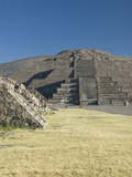 Pyramid of the Moon, Archaeological Zone of Teotihuacan, UNESCO World Heritage Site, Mexico Photographic Print