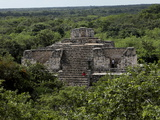The Oval Palace, Mayan Ruins, Ek Balam, Yucatan, Mexico, North America Photographic Print by Balan Madhavan