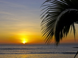 Idyllic Sunset on the Island of Ile Sainte Marie, Madagascar, Indian Ocean, Africa Photographic Print