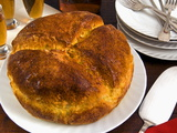 Pinza Cake, An Italian Dish For Easter Day, Trieste, Friuli-Venezia Giulia, Italy, Europe Photographic Print