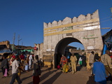 The Ancient Entrance Gate of Harar, Ethiopia, Africa Photographic Print