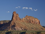 Red Rock Butte and a Cloud, Canyon Country, Utah, United States of America, North America Photographic Print by James Hager