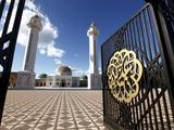 Mausoleum of Habib Bourguiba, Monastir, Tunisia, North Africa, Africa Stampa fotografica di Dallas & John Heaton