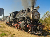 Old Steam Locomotive, Trinidad, Cuba, West Indies, Caribbean, Central America Photographic Print