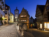 Ploenlein, Siebers Tower, Rothenburg Ob Der Tauber, Franconia, Bavaria, Germany, Europe Photographic Print by Gavin Hellier