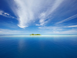 Deserted Island, Maldives, Indian Ocean, Asia Photographic Print by Sakis Papadopoulos