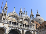 St. Mark's Basilica, Venice, UNESCO World Heritage Site, Veneto, Italy, Europe Photographic Print by Amanda Hall